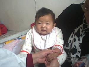 Chui Shuhan,a 7-month-old girl,bronchitis(2002-11-16)